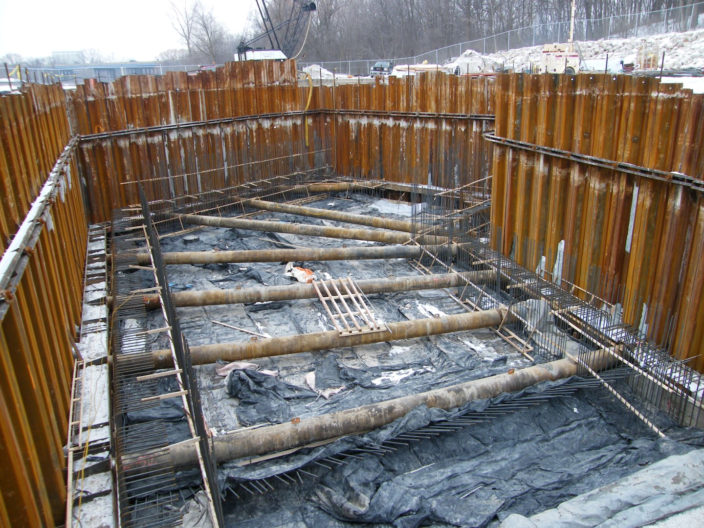 Portable Bridge Construction : Construction engineering westbrook associated engineers