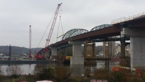 Bridge Construction of IL89 over IL River